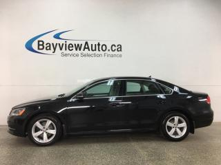 Used 2015 Volkswagen Passat 1.8 TSI Comfortline - HTD LEATHER! SUNROOF! ALLOYS! FULL PWR GROUP! for sale in Belleville, ON