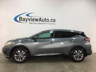 Used 2016 Nissan Murano SL - AWD! HTD LEATHER! NAV! PANOROOF! for sale in Belleville, ON