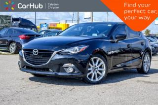 Used 2015 Mazda MAZDA3 GT|Navi|Sunroof|Backup Cam|Bluetooth|Heated Front Seats|Keyless|18