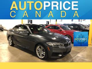 Used 2016 BMW 2-Series 228 i xDrive M-SPORT PKG NAVIGATION MOONROOF for sale in Mississauga, ON