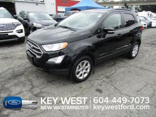 Used 2018 Ford EcoSport SE Sunroof Cam Sync 3 Reverse Sensors for sale in New Westminster, BC
