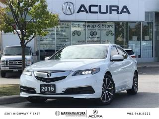 Used 2015 Acura TLX 3.5L SH-AWD V6 290HP, Backup Cam, Heated Seats for sale in Markham, ON