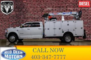 Used 2019 RAM 5500 4x4 Crew Cab Laramie Mechanic's Box for sale in Red Deer, AB