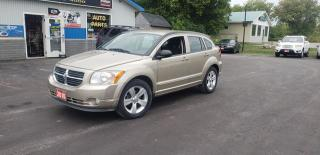 Used 2010 Dodge Caliber SXT for sale in Madoc, ON
