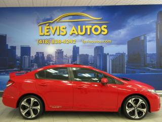 Used 2015 Honda Civic SI GPS NAVIGATION TOIT OUVRANT EXTRA PRO for sale in Lévis, QC