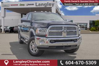 Used 2016 RAM 3500 Laramie *LOADED LARAMIE* for sale in Surrey, BC