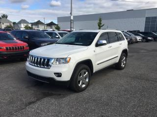 Used 2011 Jeep Grand Cherokee OVERLAND *V8*CUIR*TOIT PANO*GPS* for sale in Brossard, QC