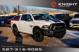 Used 2019 RAM 1500 Classic Warlock Crew Cab   Heated Seats and Steering Wheel   Sunroof   Navigation for sale in Medicine Hat, AB