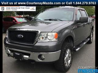 Used 2007 Ford F-150 XLT SuperCrew 4WD for sale in Courtenay, BC