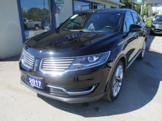 Used 2017 Lincoln MKX LOADED ALL-WHEEL DRIVE 5 PASSENGER 2.7L - TURBO.. NAVIGATION.. LEATHER.. HEATED/AC SEATS.. PANORAMIC SUNROOF.. BACK-UP CAMERA.. REVEL AUDIO.. for sale in Bradford, ON