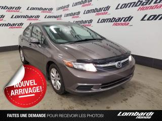 Used 2012 Honda Civic EX|JAMAIS ACCIDENTÉ| for sale in Montréal, QC