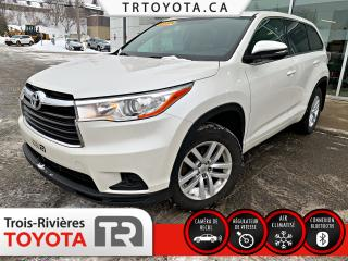 Used 2015 Toyota Highlander Traction intégrale 4 portes LE for sale in Trois-Rivières, QC