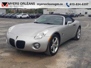 Used 2006 Pontiac Solstice 2DR Conv for sale in Orleans, ON