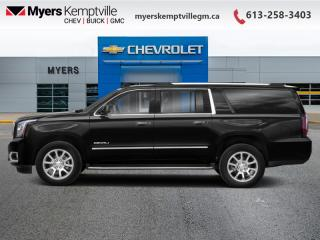 New 2020 GMC Yukon XL Denali  - Cooled Seats -  Heated Seats for sale in Kemptville, ON