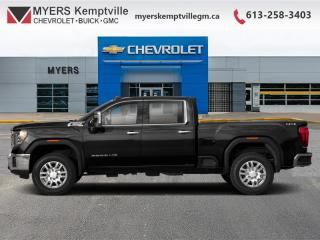Used 2020 GMC Sierra 2500 HD AT4  - Sunroof for sale in Kemptville, ON