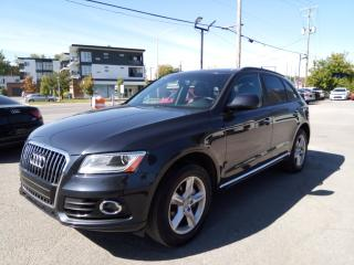 Used 2016 Audi Q5 2.0T Komfort QUATTRO CUIR MAGS 66,000KM for sale in St-Eustache, QC