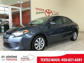 Used 2016 Toyota Corolla * LE * CAMÉRA * SIÈGES CHAUFF. for sale in Mirabel, QC