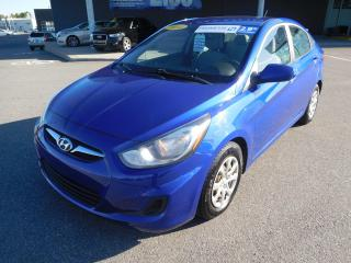 Used 2014 Hyundai Accent GL, A/C, CRUISE, BLUETOOTH, SIEGE CHAUFFANTS for sale in Mirabel, QC