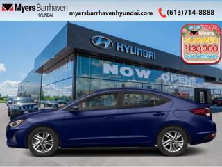 New 2020 Hyundai Elantra Luxury  - Luxury Driven -  High Comfort - $159 B/W for sale in Nepean, ON