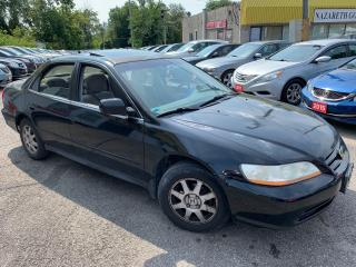 Used 2002 Honda Accord EX/ AUTO/ SUNROOF/ PWR GROUP/ ALLOYS! for sale in Scarborough, ON