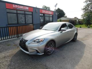Used 2015 Lexus IS 250 F SPORT|NAVIGATION|AWD|FULLY LOADED for sale in St. Thomas, ON