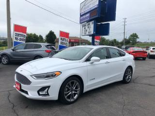 Used 2019 Ford Fusion Hybrid Titanium for sale in Brantford, ON
