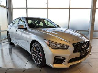 Used 2017 Infiniti Q50 3.0T Red Sport 400 for sale in Edmonton, AB