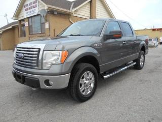 Used 2010 Ford F-150 XLT XTR 4X4 4.6L V8 Crew Cab 5.5Ft Box Certified for sale in Rexdale, ON