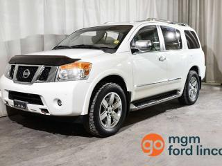 Used 2011 Nissan Armada Platinum for sale in Red Deer, AB