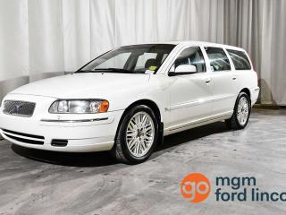 Used 2005 Volvo V70 2.4L FWD | 5-SPEED MANUAL | MOONROOF | HEATED FRONT SEATS for sale in Red Deer, AB