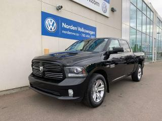 Used 2014 RAM 1500 SPORT 4X4 CREW CAB - LEATHER / SUNROOF - LOADED for sale in Edmonton, AB