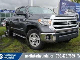 Used 2016 Toyota Tundra SR5 DOUBLECAB/TOONEAUCOVER/RUNNINGBOARDS/BACKUPCAM/LOWKMS for sale in Edmonton, AB