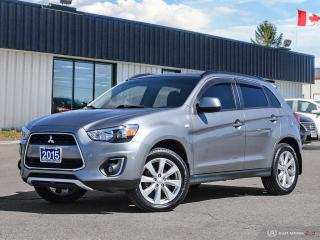 Used 2015 Mitsubishi RVR GT,AWD,NEW TIRES,REMOTE START,B.TOOTH,HEATED SEATS for sale in Orillia, ON