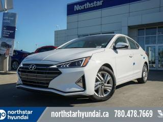 New 2020 Hyundai Elantra PREFERRED-APPLE CAR PLAY/ BACK UP CAM/ HEATED STEERING WHEEL/ BLUETOOTH for sale in Edmonton, AB