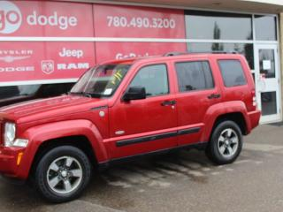 Used 2008 Jeep Liberty SPORT / 4WD / BLUETOOTH for sale in Edmonton, AB