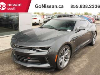 Used 2017 Chevrolet Camaro BACK UP CAMERA BLUETOOTH SUNROOF for sale in Edmonton, AB