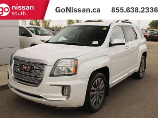 Used 2016 GMC Terrain DNLI LEATHER SEATS BACK UP CAMERA NAVIGATION for sale in Edmonton, AB