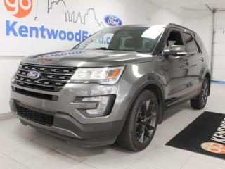 Used 2017 Ford Explorer XLT 4WD with NAV, sunroof, heated power leather seats, rear climate control, back up cam and keyless entry for sale in Edmonton, AB