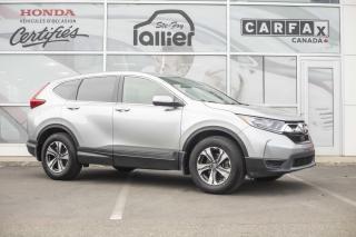 Used 2017 Honda CR-V LX ***GARANTIE GLOBALE JUSQU'EN MAI 2022 for sale in Québec, QC