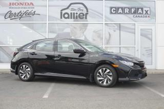 Used 2017 Honda Civic HATCHBACK LX ***GARANTIE GLOBALE JUSQU'E for sale in Québec, QC