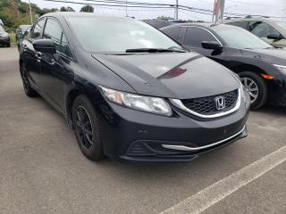 Used 2015 Honda Civic LX ***GARANTIE GLOBALE JUSQU'EN SEPTEMBR for sale in Québec, QC