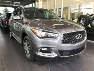 Used 2019 Infiniti QX60 ESSENTIALS PACKAGE AWD, ACCIDENT FREE, SUNROOF, NAVI, POWER HEATED LEATHER SEATS for sale in Edmonton, AB