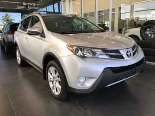 Used 2013 Toyota RAV4 LIMITED AWD, POWER HEATED LEATHER SEATS, KEYLESS IGNITION, SIRIUS XM CAPABILITY for sale in Edmonton, AB