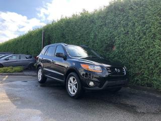 Used 2011 Hyundai Santa Fe LIMITED + NAV+ HEATED FRT SEATS + SUNROOF + BACK-UP CAMERA + NO EXTRA DEALER FEES for sale in Surrey, BC