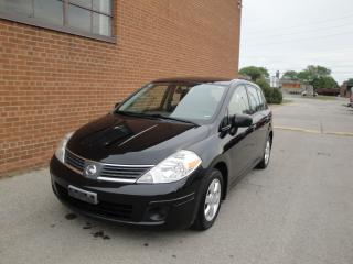 Used 2009 Nissan Versa ONE OWNER/FULL SERVICE /1.8 S/SAFETY AND WARRANTY for sale in Oakville, ON