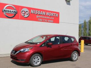 Used 2017 Nissan Versa Note SV/HEATED SEATS/BACK UP CAM for sale in Edmonton, AB