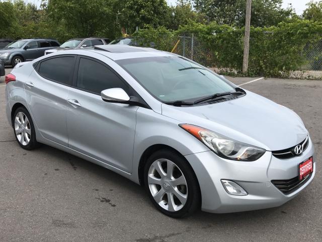2013 Hyundai Elantra LTD ** HTD LEATH, BLUETOOTH , SUNROOF **