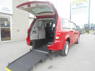 Used 2013 Dodge Grand Caravan SXT-Wheelchair Accessible Rear Entry-Manual for sale in London, ON