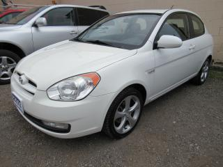 Used 2009 Hyundai Accent GL Sport - Certified w/ 6 Month Warranty for sale in Brantford, ON