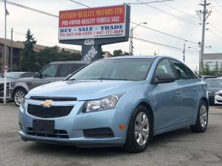 Used 2012 Chevrolet Cruze LS+ w/1SB for sale in Toronto, ON